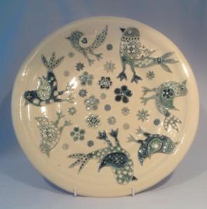 Blue Birds Plate